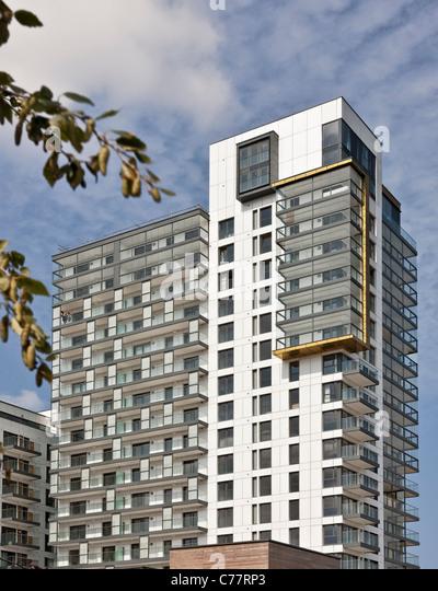 Apartments Architecture Penthouse Stock Photos
