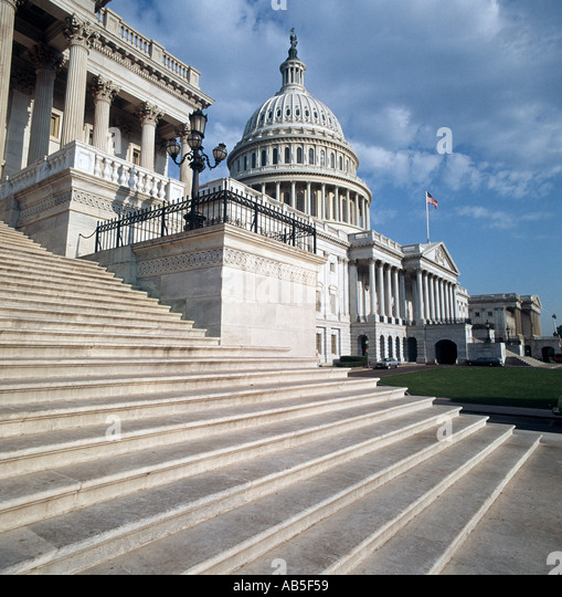 Capitol Building in Washington D C USA - Stock Image