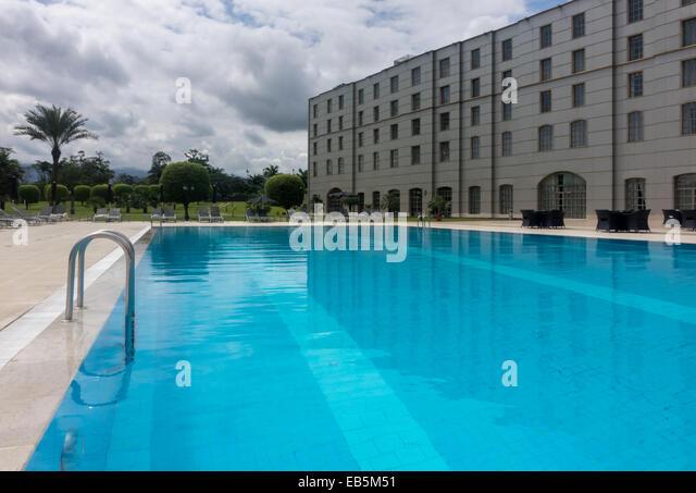 Malabo city stock photos malabo city stock images alamy - Hilton swimming pool ...