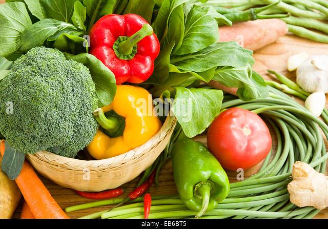 Fresh vegetables - Stock Image