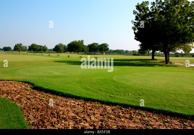 A view of Golf Course in Ahmedabad, India - Stock-Bilder