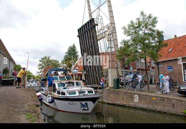 Edam Netherlands Holland historic town Museum - Stock Image