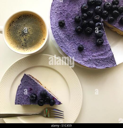 Blueberry pie - Stock-Bilder