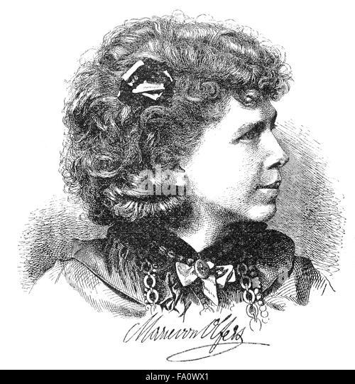 Marie von Olfers, Pseudonym M(aria) Werner, German writer and Salonnière - Stock-Bilder