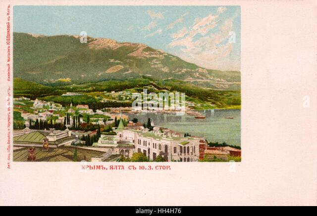 Yalta, Crimea, Ukraine. - Stock Image