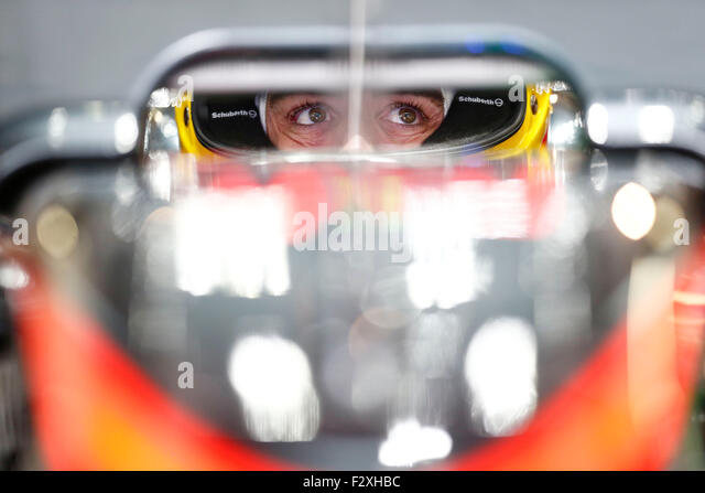 Motorsports: FIA Formula One World Championship 2015, Grand Prix of Japan, #14 Fernando Alonso (ESP, McLaren Honda), - Stock-Bilder
