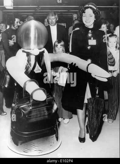 Early ROBOTS - Stock Image