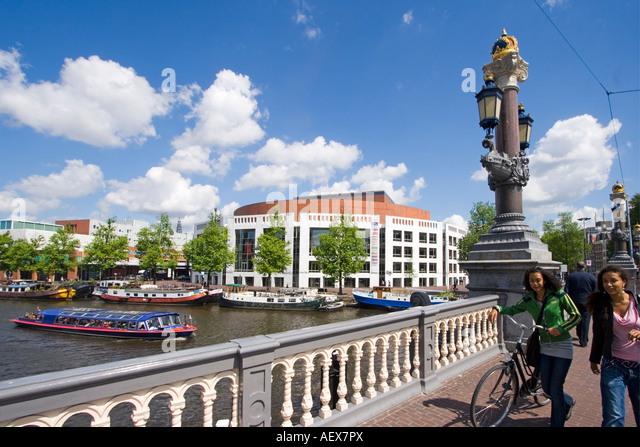 Amsterdam opera house - Stock Image
