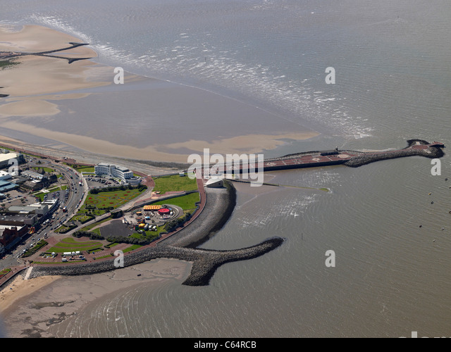The seaside resort of Morcambe, Lancashire,North West England - Stock Image