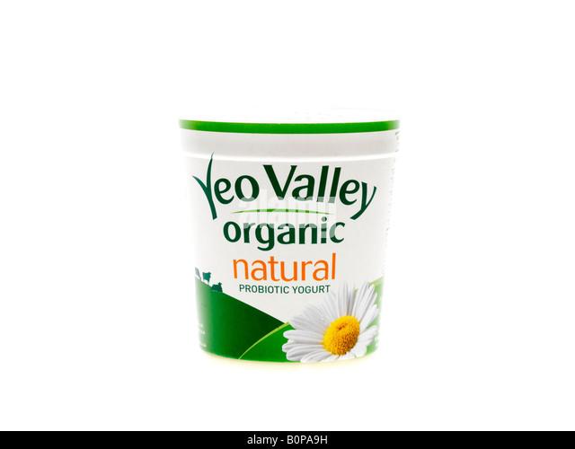 Live Yogurt - Stock Image