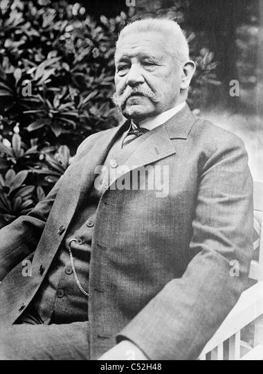 General Von Hindenburg - Stock Image