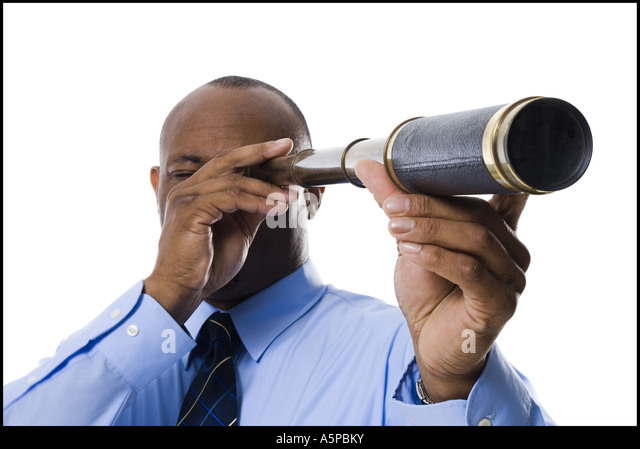 Businessmen Telescope Stock Photos & Businessmen Telescope ...