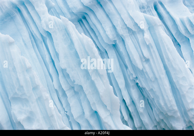 Ice Formation - Stock Image
