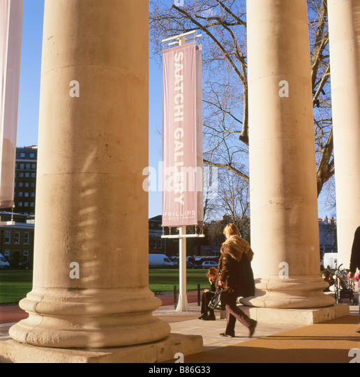 The Saatchi Art Gallery, Chelsea London England UK  KATHY DEWITT - Stock Image