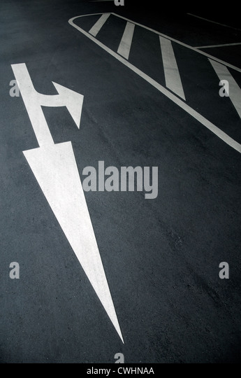 direction,arrow,decisions - Stock Image