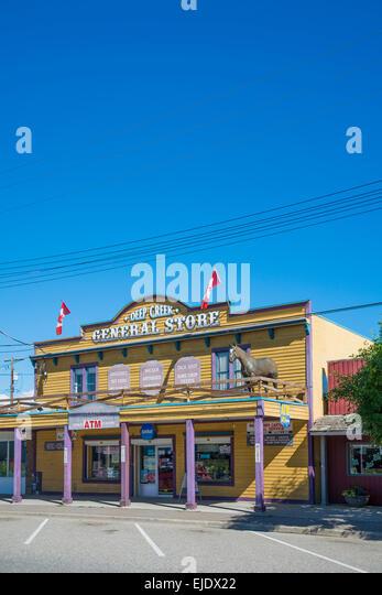 Deep Creek General Store, Armstrong, Okanagan Valley, British Columbia, Canada - Stock Image