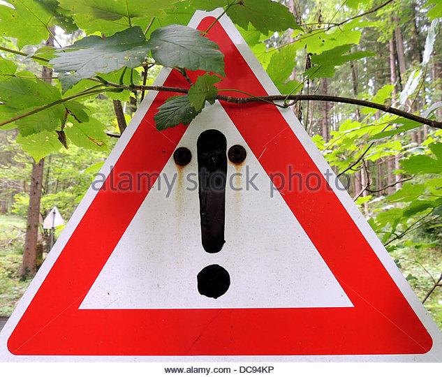 Road Sign face - Stock-Bilder