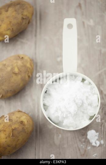 Gluten Free Potato Flour - Stock Image
