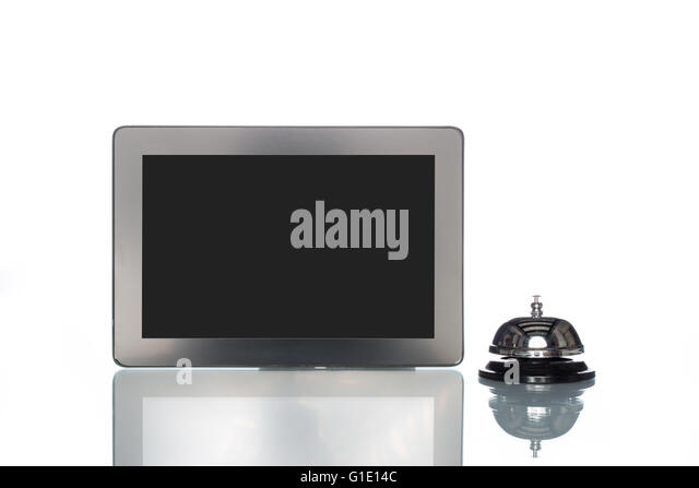 Globalization stock photos globalization stock images for Tablet hotel booking