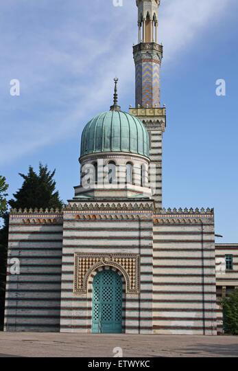 Sanssouci, Potsdam, pumping station, Moorish style - Stock Image