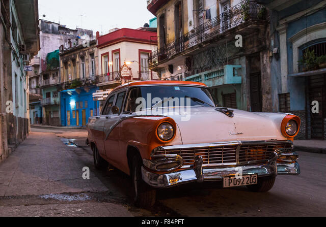 Early one morning in Centro Havana - Stock Image