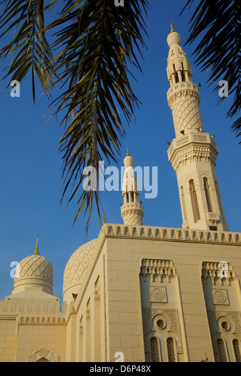 Jumeirah Mosque, Dubai, United Arab Emirates, Middle East - Stock Image