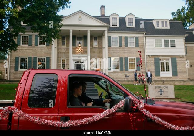 IU homecoming parade. (Photo by Jeremy Hogan) - Stock Image