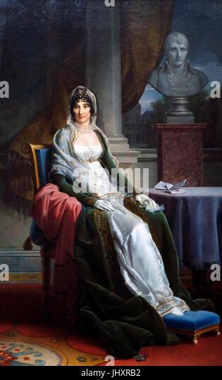 Marie-Laetitia Bonaparte, 'Madame Mere' - Baron Gerard Francois, circa 1800 - Stock Image