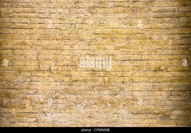 The old brick wall, Italy , Vatican. - Stock-Bilder