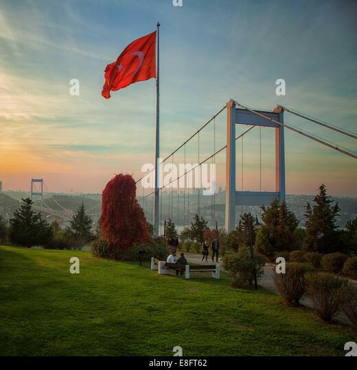 Turkey, Istanbul, Otagtepe - Stock Image