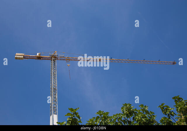 Iron suitable for heavy lifting cranes - Stock Image
