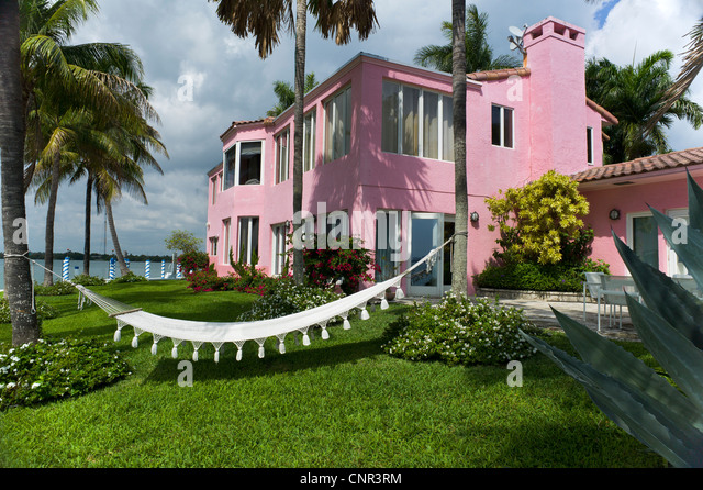 MARLENE BRODY HOUSE MIAMI FLORIDA - Stock Image