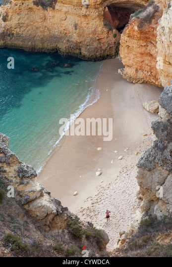 Cove at Algarve,  Portugal - Stock-Bilder
