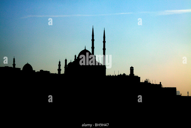 Cairo, Egypt, Citadel, palace, arab, muslim, architecture, architect, travel, visit, site seeing, symbols - Stock Image