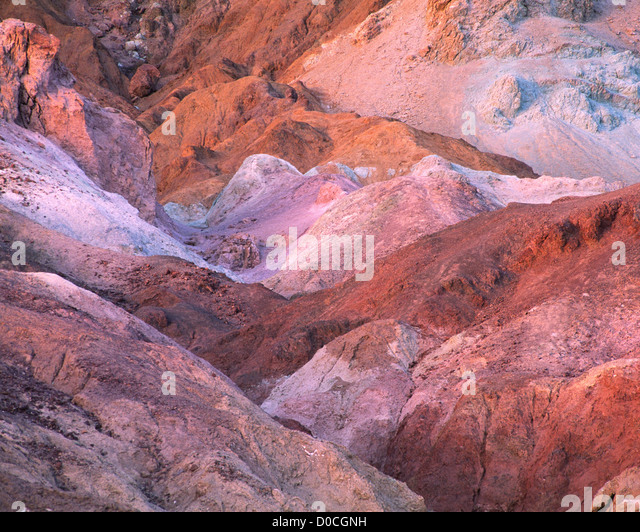 Oxides of Artists Palette or Polychrome Colors of Oxidation - Stock Image
