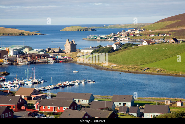 Scalloway Stock Photos Scalloway Stock Images Alamy