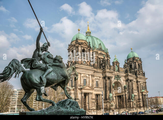 Berliner Dom, Deutschland | Berlin Cathedral, Germany - Stock-Bilder