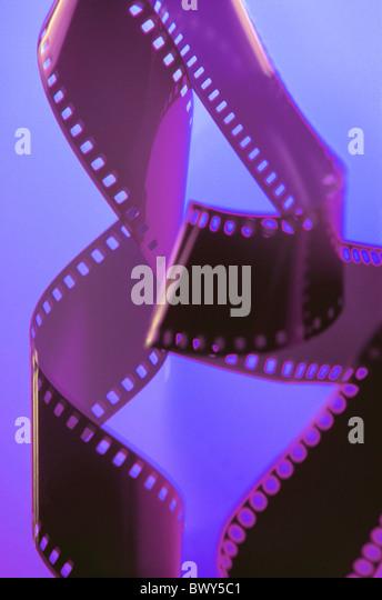 alienated effect film film strip movie photograph still life stripe - Stock-Bilder