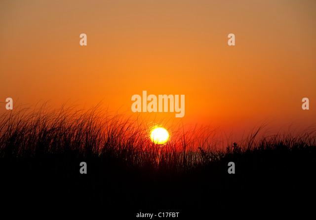 Coastal sunrise, Cape Cod, MA, USA - Stock Image