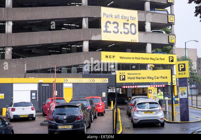 Multi story car park uk stock photos multi story car for Tj motors new london