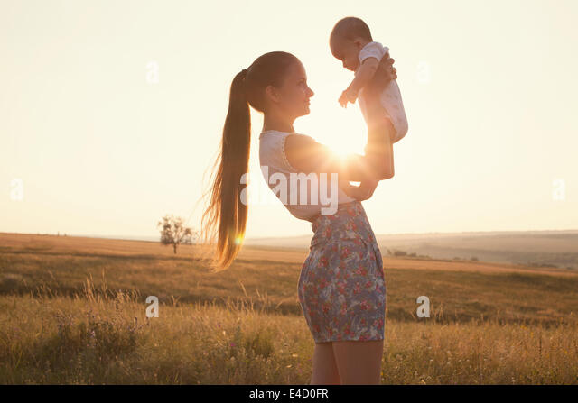 Happy family - Stock Image