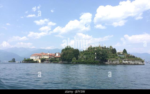 ISOLA BELLA on Lake Maggiore, Italy. Photo: Tony Gale - Stock-Bilder