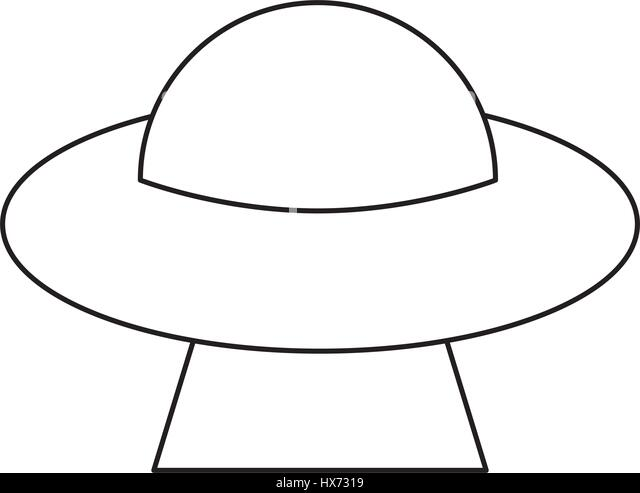 Ufo Black And White Stock Photos & Images