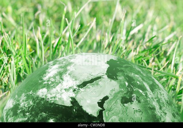 Conceptual image describing green technology - Stock Image
