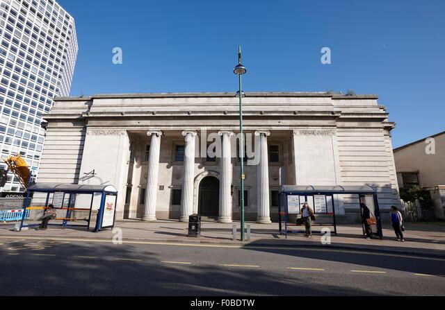 Birmingham municipal bank building UK - Stock-Bilder