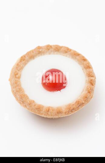 Cherry Backewell tart - Stock-Bilder
