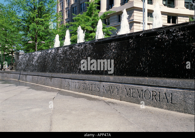 Navy Memorial, Washington D.C. - Stock Image