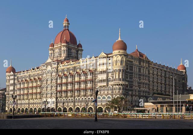 India, Maharashtra, Mumbai, Colaba district, Taj Hotel - Stock Image