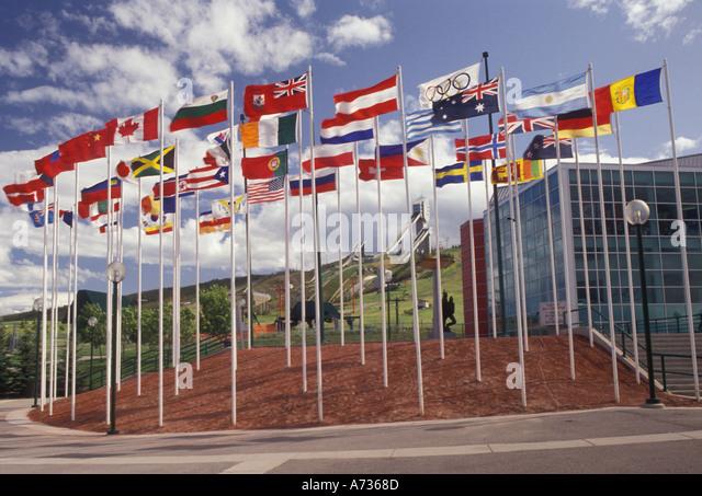 AJ3627, Canada, AB, Alberta, Calgary - Stock Image