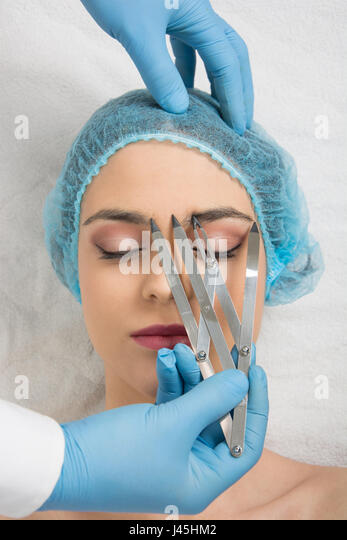 Tattoo Eyebrows Stock Photos Amp Tattoo Eyebrows Stock